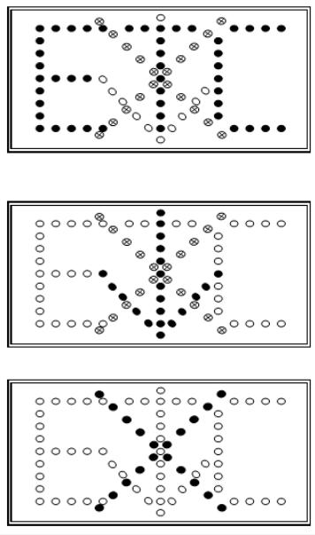 叉号箭头矢量图